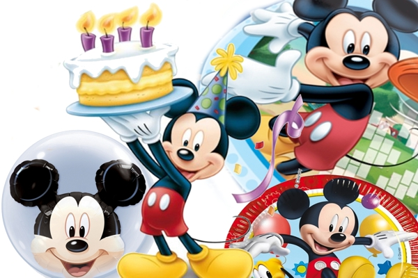 Mickey Mouse - Kindergeburtstag Party-Sets mit Luftballons ...