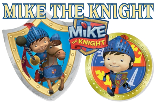Mike-the-Knight-Dekoration-Kindergeburtstag Partydeko