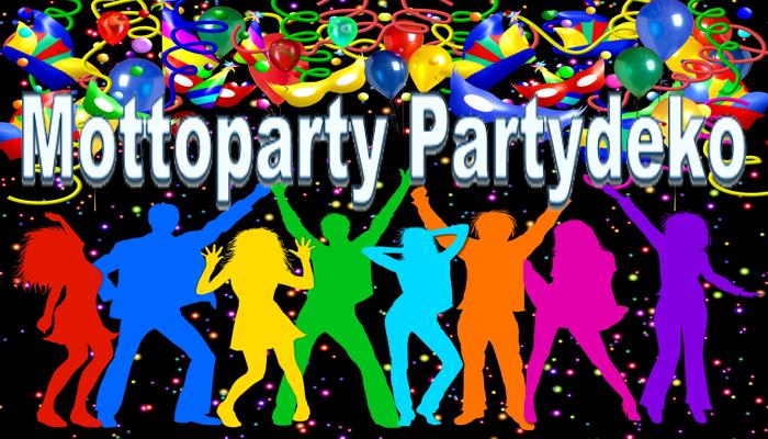 Mottoparty Partydeko