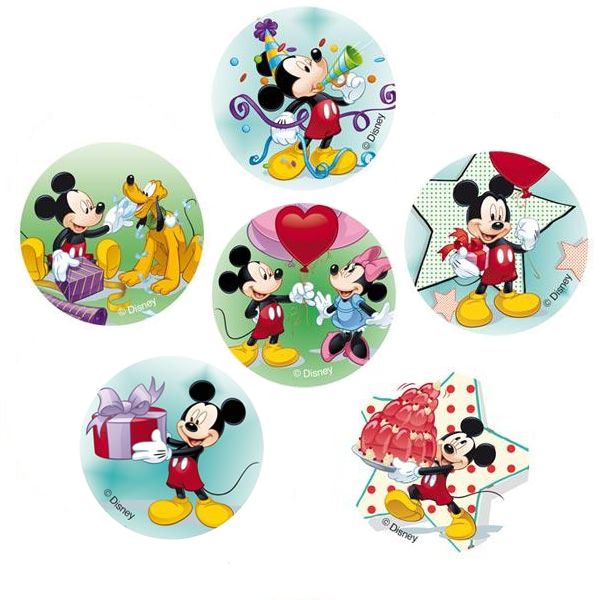 muffin dekoration mickey mouse partydekoration kindergeburtstag ballonsupermarkt. Black Bedroom Furniture Sets. Home Design Ideas