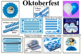 Oktoberfest Dekoration