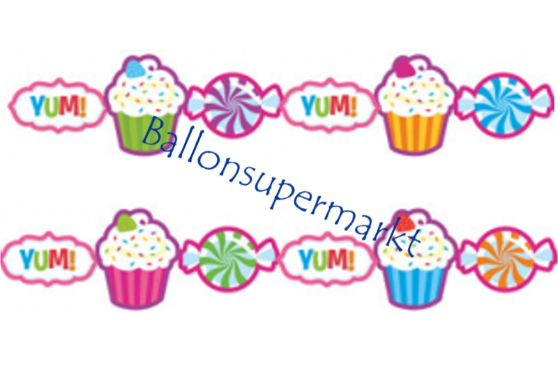 Party-Banner-Candy-Shop-Dekoration-Girlande-Mottoparty-Candy-Bar-Sweet-Shop-Kindergeburtstag