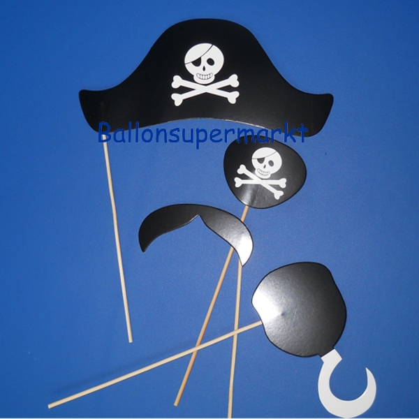 Photoprops-Pirat-Partydekoration-Fotos-Bilder-Fotospass-Requisiten-Halloween-Fest
