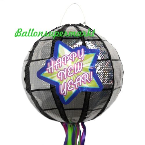 Ballonsupermarkt Silvester Pinata Happy