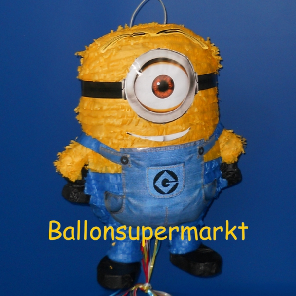 ballonsupermarkt minions pinata stuart pinatas kindergeburtstag geburtstag. Black Bedroom Furniture Sets. Home Design Ideas
