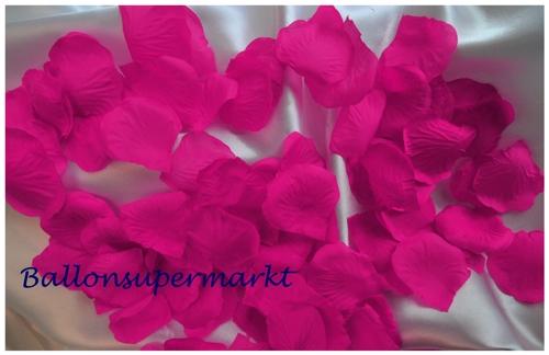 Ballonsupermarkt Rosenbl Tter Pink 100