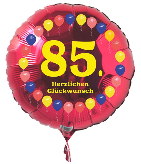 Luftballon 85 geburtstag ballonsupermarkt - Geschenke zum 85 geburtstag ...