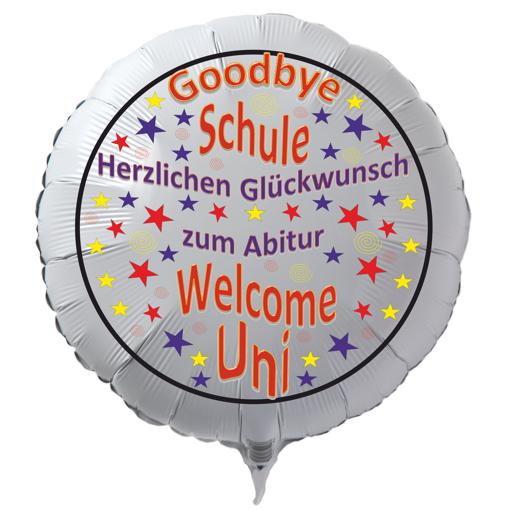 Luftballon Herzlichen Glückwunsch zum Abitur