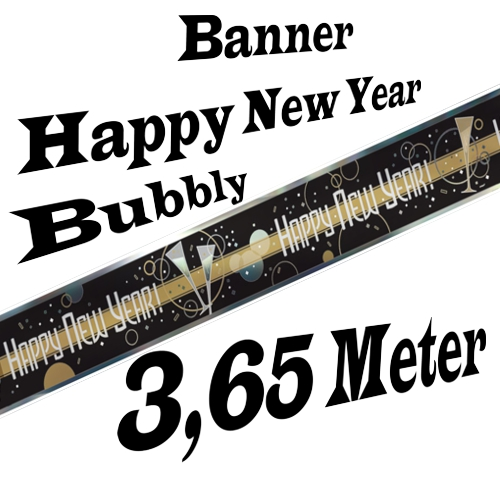 Silvesterdeko-Banner-Bubbly-Happy-New-Year