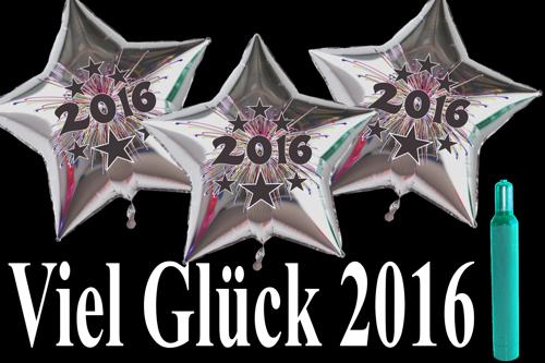 Dekoration Silvester 2016