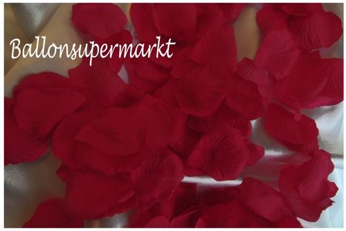 Ballonsupermarkt-Onlineshop.de - Rosenblätter dunkelrot, 100 Stück ...