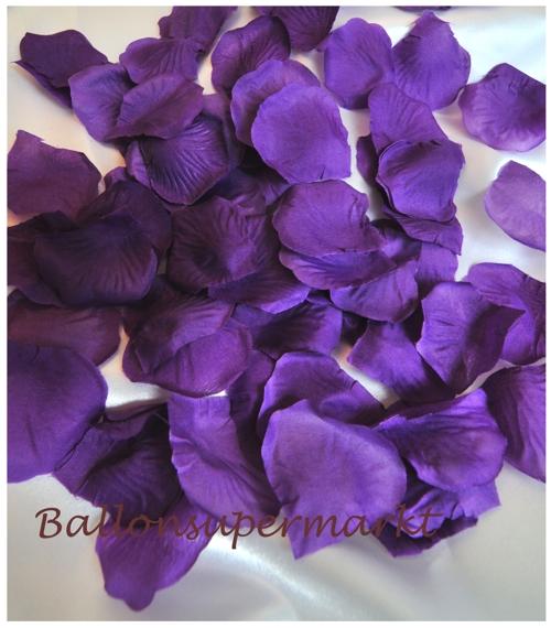 Rosenblätter, Streudeko zur Hochzeit