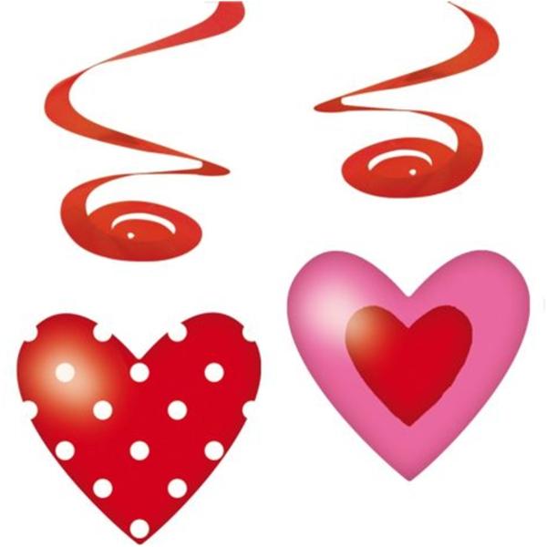 Ballonsupermarkt Sweet Love Wirbler