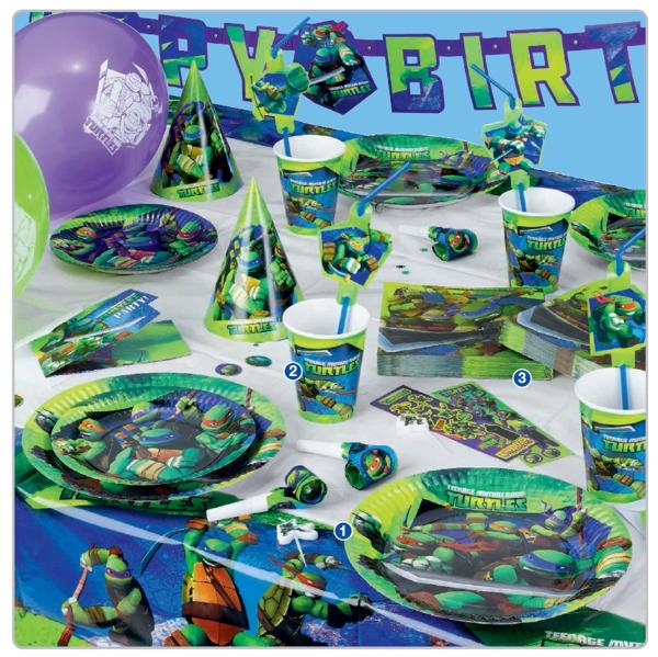Schön Teenage Mutant Ninja Turtles Kinderparty Dekoration