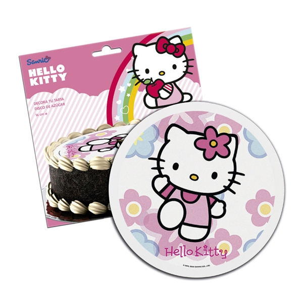 Torten dekoration hello kitty partydekoration for Kuche dekoration shop