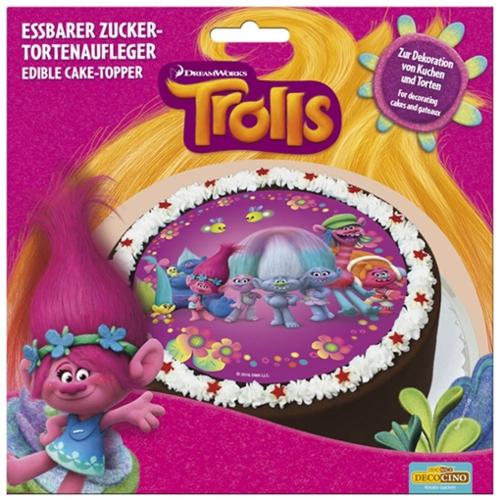 Tortendekoration Trolls Partydekoration Kindergeburtstag