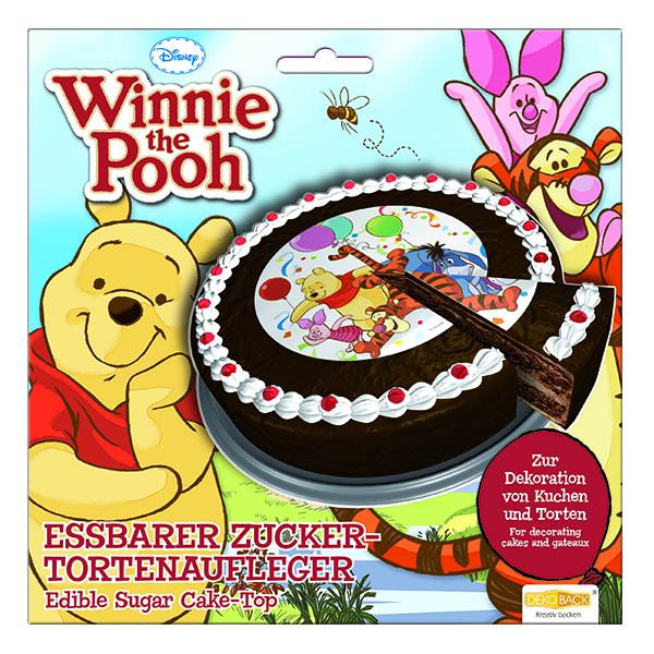 Tortendekoration winnie pooh partydekoration kindergeburtstag ballonsupermarkt - Winnie pooh kuchen deko ...