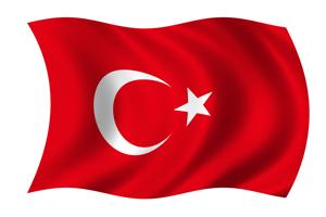 Luftballons aus Folie, Türkei, türkische Motive, türkische Sprache