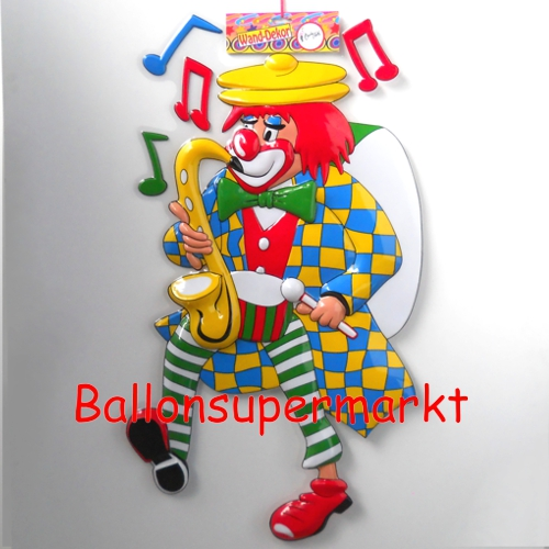 ballonsupermarkt karnevals clown mit. Black Bedroom Furniture Sets. Home Design Ideas