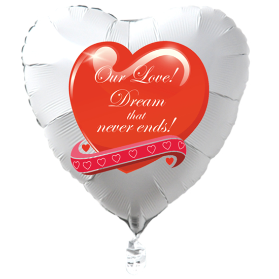 Weisser-Herzluftballon-zum-Valentinstag-Our-Love-Dream-that-never-ends