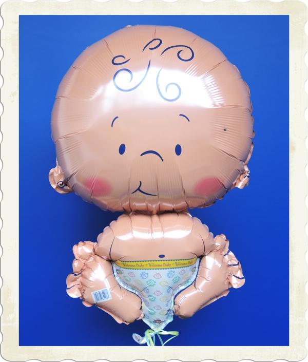 ballonsupermarkt welcome baby gro er luftballon mit helium zur geburt geburt. Black Bedroom Furniture Sets. Home Design Ideas