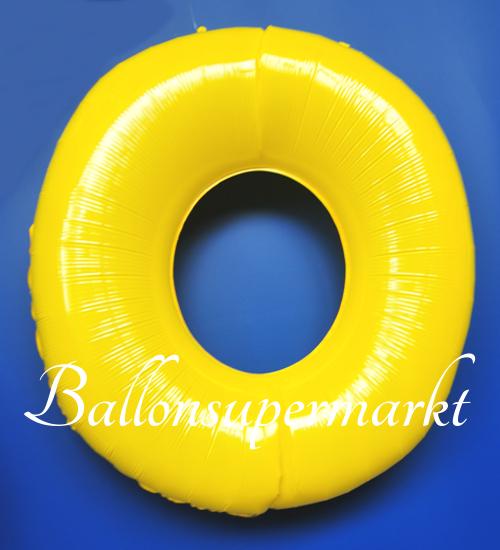 ballonsupermarkt zahlen luftballon aus folie 0 null gelb 100 cm gro. Black Bedroom Furniture Sets. Home Design Ideas