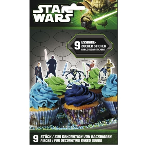kuchendekoration zuckersticker star wars partydekoration kindergeburtstag ballonsupermarkt. Black Bedroom Furniture Sets. Home Design Ideas