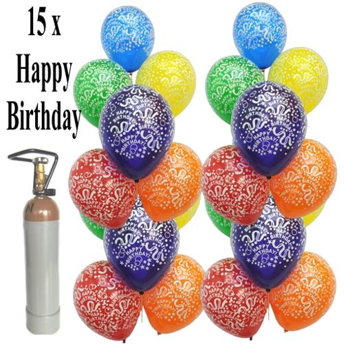Ballonsupermarkt Geburtstags Mini Set 2