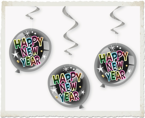 deko-swirls-balloons-happy-new-year-silvester-partydekoration