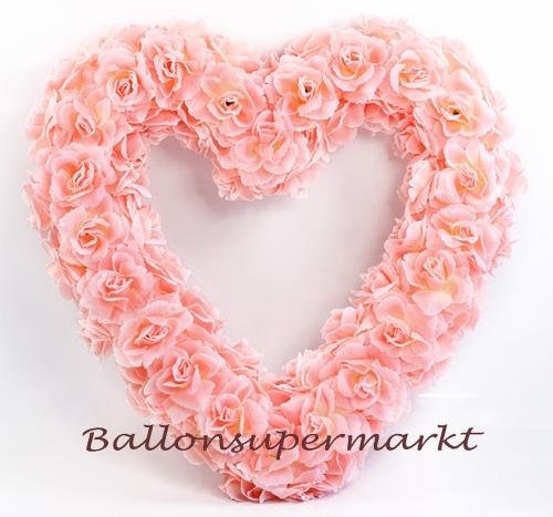 Rosen Herz Rosa Herz Aus Rosen Dekoration Hochzeit Ballonsupermarkt