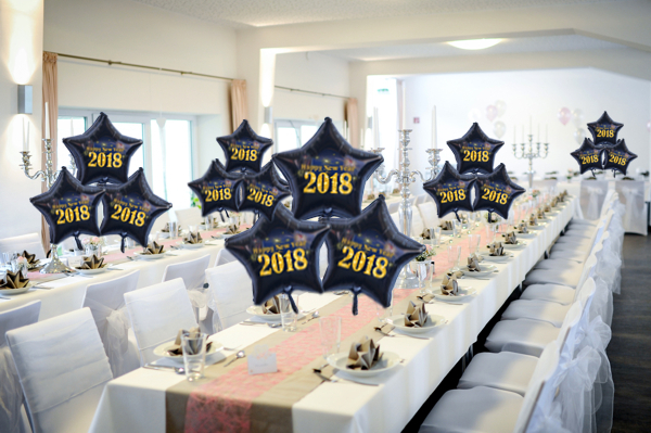 Silvesterparty Dekoration 2018