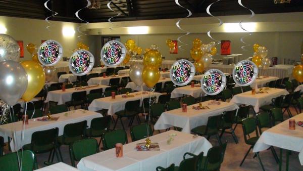 Silvester dekoration deko h nger luftballons swirls happy - Silvester dekoration ...
