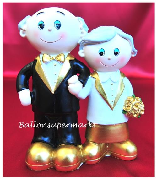 Brautpaar hochzeitsdeko goldene hochzeit ballonsupermarkt - Brautpaar tischdeko ...