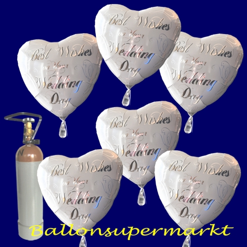 ballonsupermarkt best wishes maxi set folienballons best wishes sets. Black Bedroom Furniture Sets. Home Design Ideas
