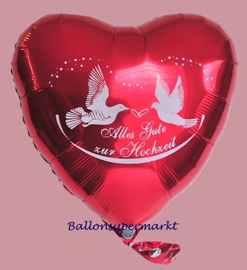 ballonsupermarkt luftballon herz alles gute zur hochzeit hochzeitsballons. Black Bedroom Furniture Sets. Home Design Ideas
