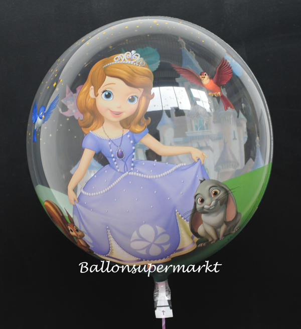 Bubble Luftballon mit Helium: Sofia die Erste, Sofia The First