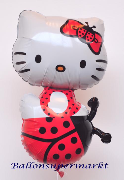 ballonsupermarkt hello kitty luftballon gro er folienballon mit ballongas. Black Bedroom Furniture Sets. Home Design Ideas