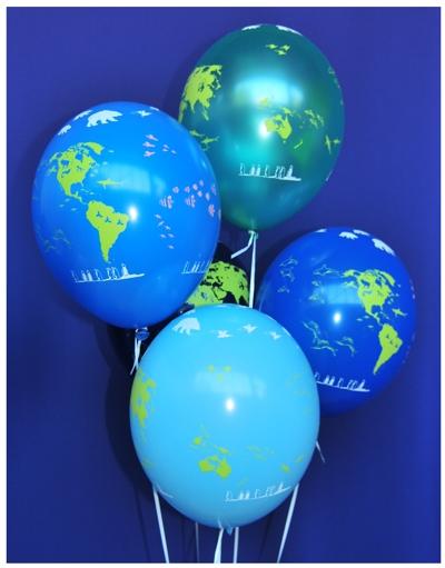 luftballons globus mit tieren motiv luftballons 10 stueck im beutel luftballons mit. Black Bedroom Furniture Sets. Home Design Ideas