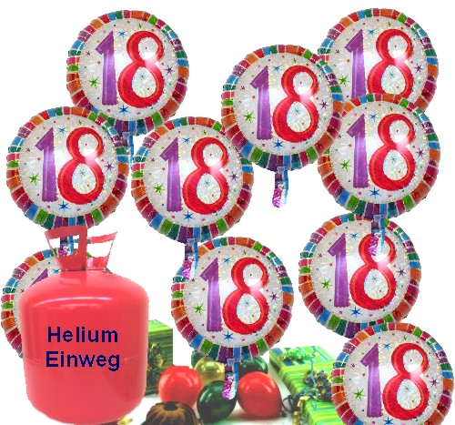 ballonsupermarkt helium einwegbeh lter. Black Bedroom Furniture Sets. Home Design Ideas