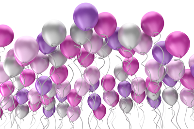 Sortiert Hochzeit Hochzeitspaar Brautpaar 21 Folat 8 Herz Luftballons farbl