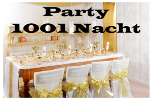 Tausend und eine Nacht Party, Partydekoration und Festdekoration