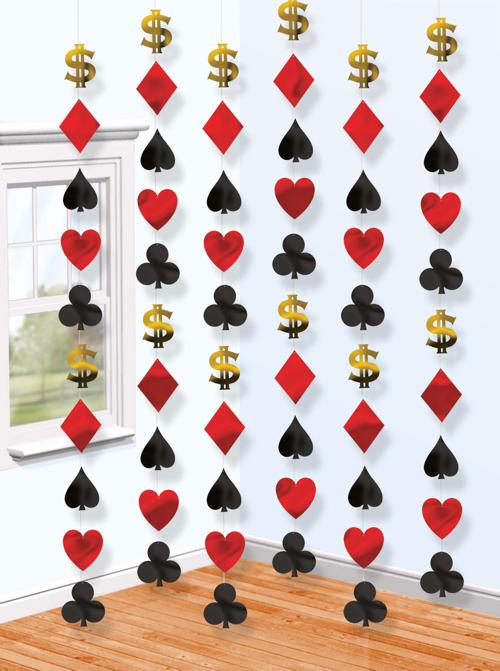 string deko casino ketten partydekoration mottoparty casino ballonsupermarkt. Black Bedroom Furniture Sets. Home Design Ideas