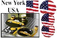 USA New York Party, Partydekoration und Festdekoration