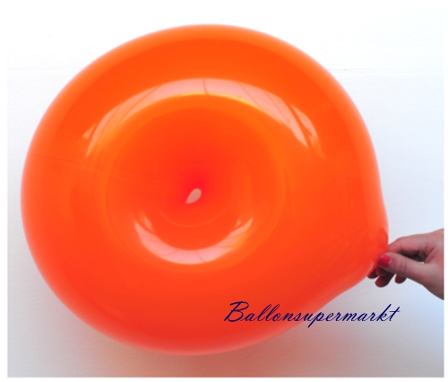 Ringballon Orange