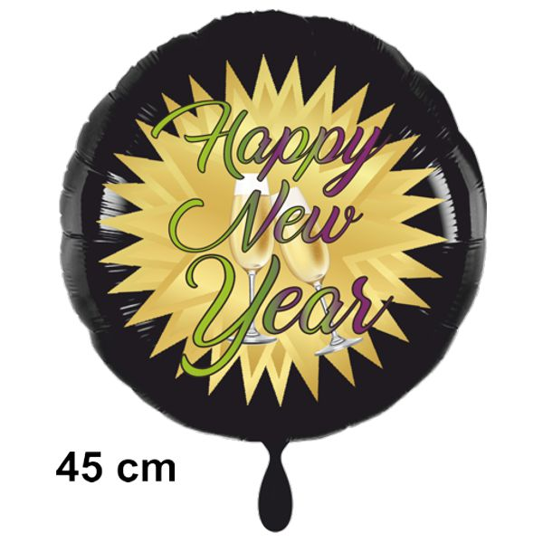 silvester-luftballon-aus-folie-happy-new-year-schwarz-gold-sekt-45cm-mit-helium