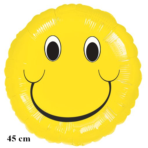 Smiley Luftballon