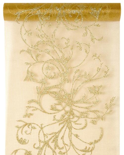 deko tischl ufer tischdecke orient gold partydekoration mottoparty orient goldene hochzeit. Black Bedroom Furniture Sets. Home Design Ideas