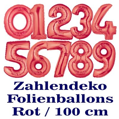 zahlen luftballon aus folie 0 null rot 100 cm gro luftballons aus folie gro e zahlen 100. Black Bedroom Furniture Sets. Home Design Ideas