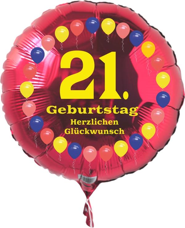 Zum 21. Geburtstag