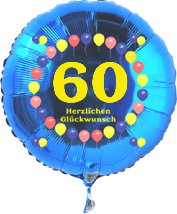Luftballon Mit Der Zahl 60